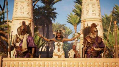 Latest Assassin's Creed Origins Trailer Shows The Political Power Players