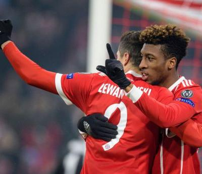 Bayern cruises to 5-0 win over Besiktas in Champions League