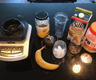 How to Make the World's Best Peanut Butter Banana Smoothie