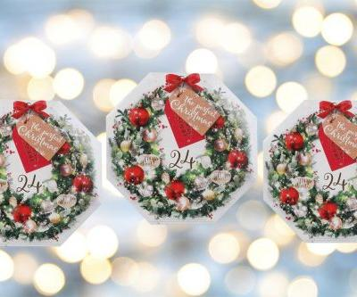 Yankee Candle's advent calendar is filled with our favourite winter scents