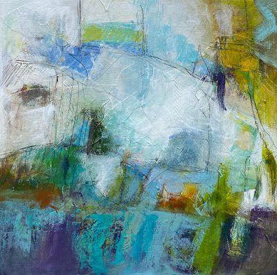"""Abstract Art, Expressionism, Contemporary Painting, Fine Art For Sale """"Interlude"""" by Contemporary Artist Liz Thoresen"""