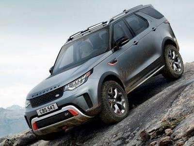 Land Rover Discovery SVX Bows With A Supercharged V8 Developing 525 PS