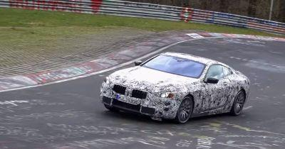 The Roly-Poly BMW 8 Series Looks Uncomfortable At The Nurburgring