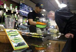 US pot states try to curb smuggling, fend off administration