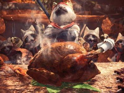 You can now change your appearance in Monster Hunter: World