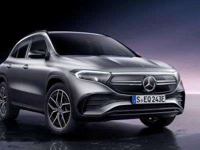The Mercedes EQA Is The GLA's Electric Cousin