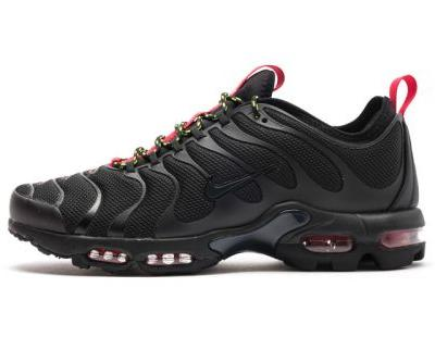 "Nike Blends Black & Red for the Air Max Plus TN Ultra ""Black/Anthracite"""