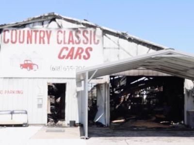 Classic Car Dealer in Illinois Gets Hit by Tornado Months After Recovering From Massive Fire