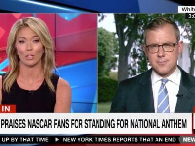 Trump Praises NASCAR Fans for Standing for National Anthem, Area Blogger Praises Herself for Not Drinking Yet Today