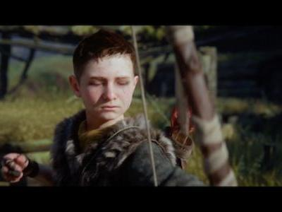 Exciting New God of War Commercial Stars Atreus