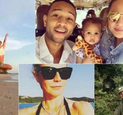 Where Celebrities Are Vacationing This Summer