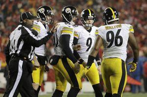 Boswell's record six field goals help Steelers kick KC out of playoffs