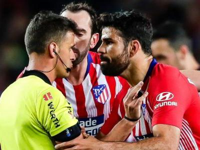 Atletico Madrid's Costa banned for eight games for insulting referee's mother
