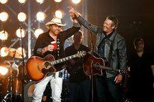 Toby Keith & Blake Shelton Ponder Careers as Cowboys During 2018 ACM Awards Performance of 'Should've Been a Cowboy': Watch