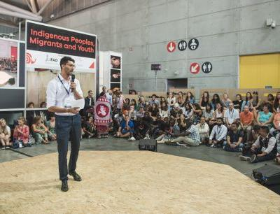 The Arena at Terra Madre Salone del Gusto - Indigenous peoples, migrants, and youth