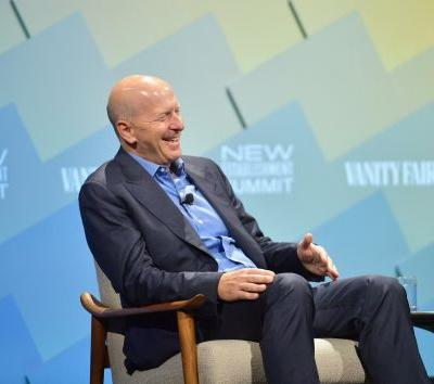 "Goldman Sachs's David Solomon says he joined Instagram because his ""a lot funnier"" predecessor had already claimed Twitter"