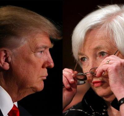 It looks like Janet Yellen issued a point by point rebuke of Donald Trump - without ever mentioning his name