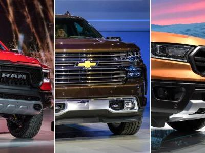 The 2018 Detroit Auto Show Was All About Lighter Pickup Trucks