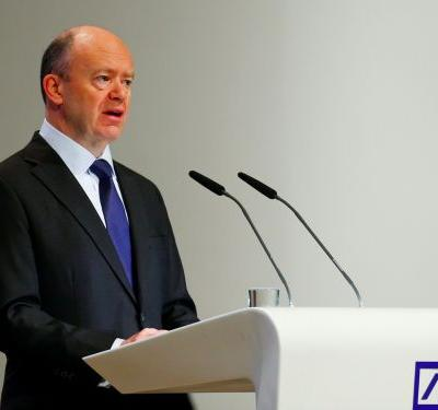 Deutsche Bank CEO: A 'big number' of jobs will be replaced by technology