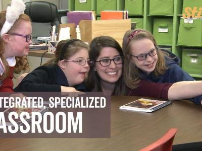'The perfect setting': Inclusive, community-focused school helps students with Down syndrome
