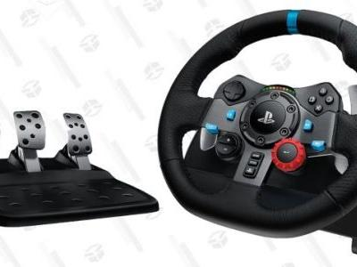 Hit the Road With Logitech's Popular Racing Wheels For the Best Prices Ever