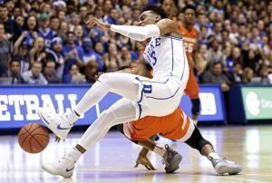 No. 1 Duke loses PG Jones indefinitely with shoulder injury