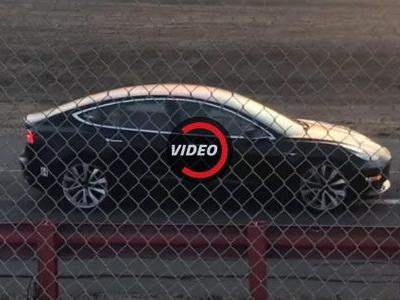 Tesla Model 3 Spotted With Red Brake Calipers, Is It The Long Awaited Performance Variant?