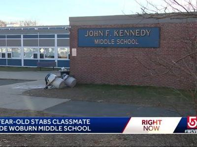 Student stabbed at Woburn middle school