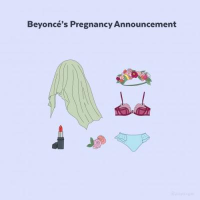 Everything You Need to Channel Beyoncé's Pregnancy Announcement For Halloween