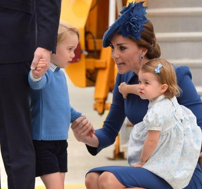 Kate Middleton revealed Prince George and Princess Charlotte 'like getting their hands messy' in the kitchen - and their favorite thing to make is so relatable