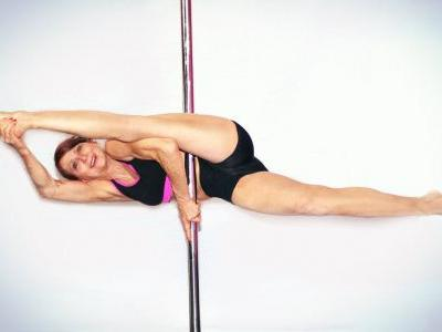 Meet the 67-year-old pole-dancer who'll make you feel like an inflexible old goat