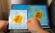 Huawei's Mate X2 shown in action with Multi-Screen Collaboration