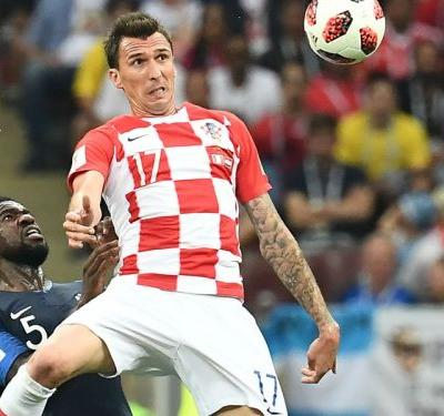 Mandzukic makes World Cup history with own goal against France in Russia 2018 final