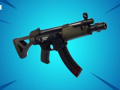 Fortnite content update v5.0 adds Submachine Gun, Typewriter Assault Rifle - but removes the Tactical SMG