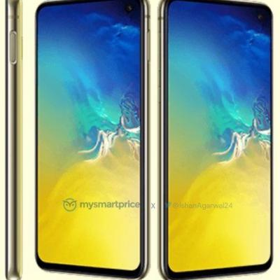 First-Ever Leak Of Canary Yellow Samsung Galaxy S10e Looks. Aggressive