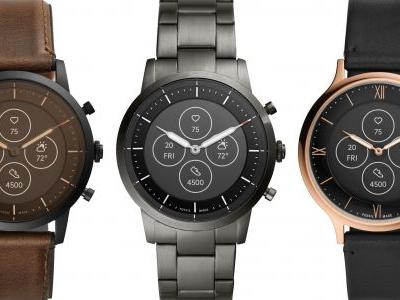 New Fossil Hybrid HR brings a heart rate sensor to a classic watch design