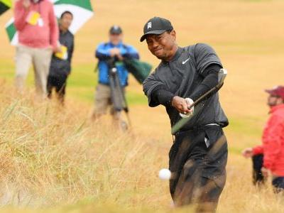 Tiger cards even-par 71 to make cut at The Open