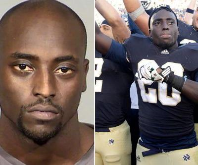 Cierre Wood, former Notre Dame star, charged with murder in 5-year-old's death