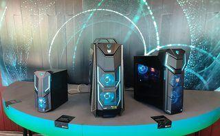 Acer's stack of Predator and Nitro gaming PC come packing Intel's Coffee Lake chips and Nvidia graphics
