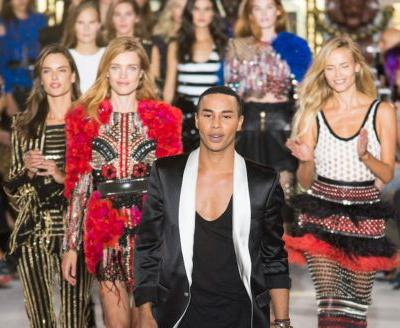 See Every Look From Balmain's Spring 2018 Collection