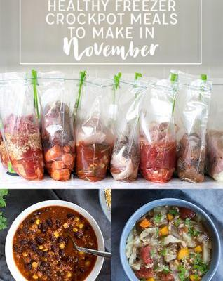 10 Healthy Freezer Crockpot Meals to Make in November