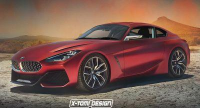 A BMW Concept Z4 Coupe Would Have Porsche's 718 Cayman In Its Sight