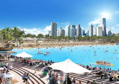 Public Access Lagoons: 'Beach life' in All Cities Around The World