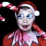 Elf on a Shelf Got A Terrifying Makeover in This Makeup Tutorial