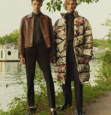 Rendy & Abe Don the Fall '19 Collections for Esquire UK