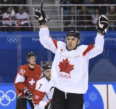 One win down: Proven former NHLers lift Canada to commanding victory over Switzerland