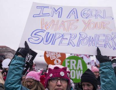 The Best Signs Of The 2019 Women's March Will Get You Pumped About The WomensWave