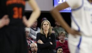 UNC hires Princeton's Banghart as women's basketball coach