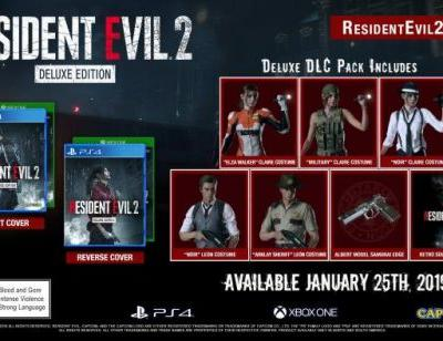 Resident Evil 2 Deluxe Edition Announced
