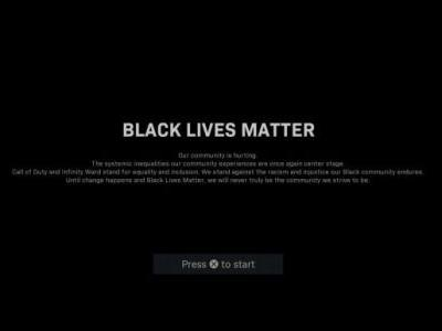 Call of Duty: Modern Warfare and Warzone Adds 'Black Lives Matter' Loading Screens Ahead of Every Match